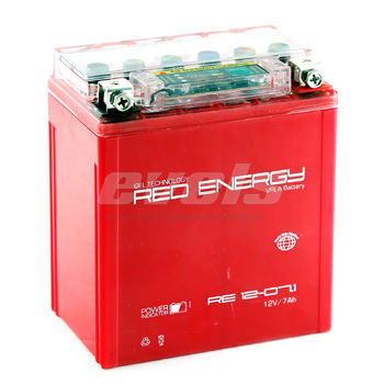 Red Energy RE12-07.1 (YTX7L-BS 7А/ч)