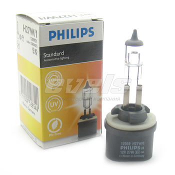 "Лампа ""PHILIPS"" 12v H27/1 27W (PG13) (кор.)"
